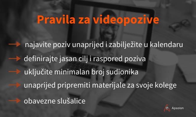 videopozivi - digitalni alati - digitalna transformacija
